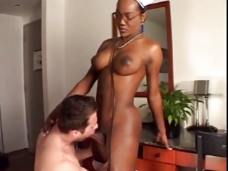 Busty, Big Dicked Nurse Cures Patient (docJock)